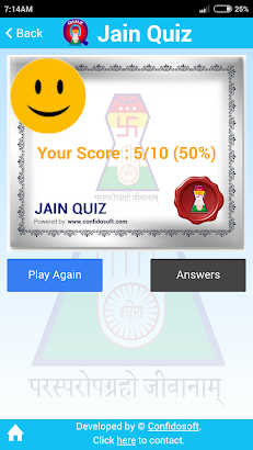 Jainism Quiz- screenshot thumbnail
