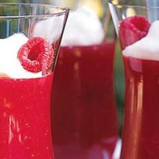 Fresh Raspberry-Gelatin Parfaits