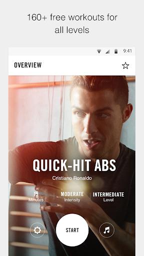 Nike Training Club - Workouts & Fitness Plans Screenshot