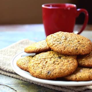 Gluten Free Chocolate Chip Almond Butter Cookies.