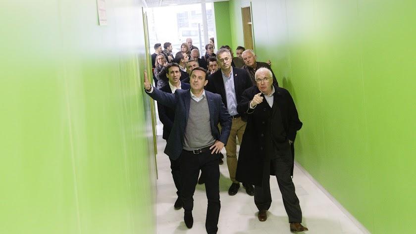 El presidente de la Diputación ha visitado el edificio.