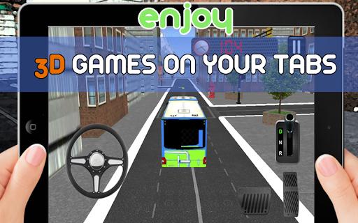 Free City Bus Parking 3D