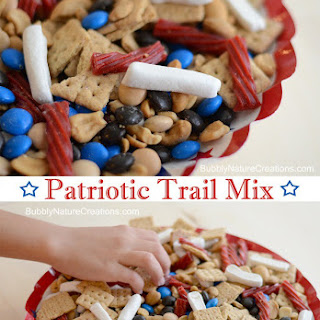 Patriotic Trail Mix for 4th of July!