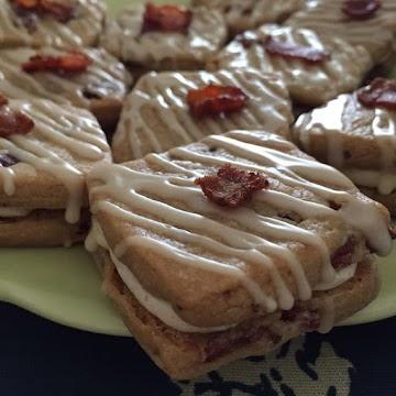 Ultimate Maple-bacon Bourbon Cream Sandwich Cookies Recipe