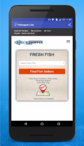 Fishopper Lite -Buy Fresh Fish screenshot 0