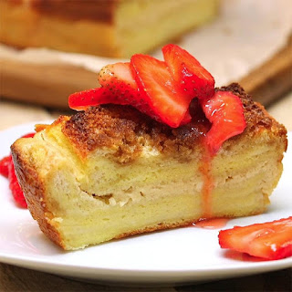 Cream Cheese Filled French Toast Loaf is a Perfect Yummy Treat
