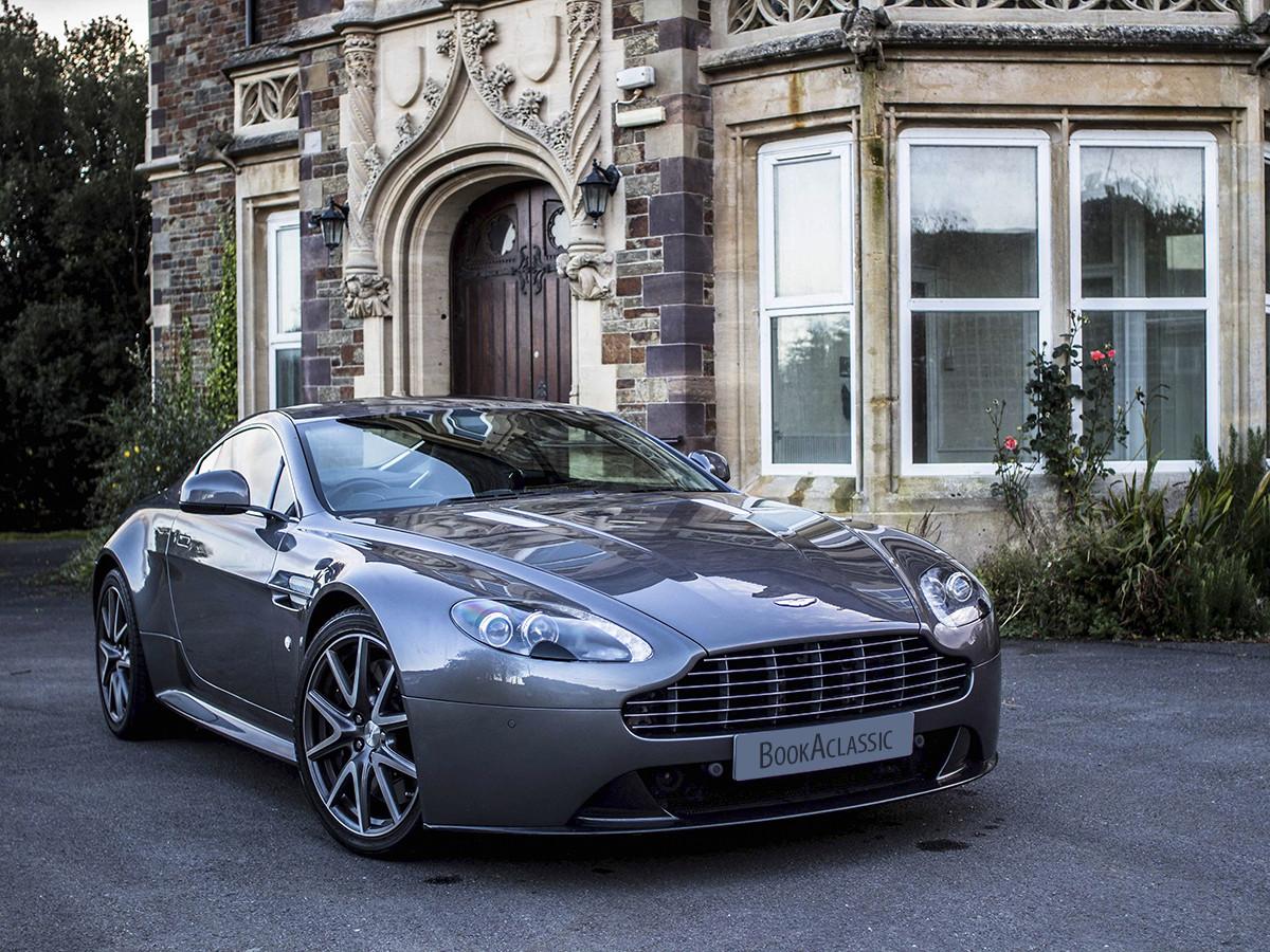 Aston Martin Vantage S Hire Cardiff
