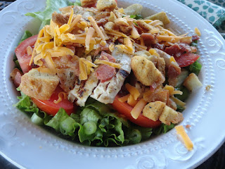 Grilled Chicken Salad, Restaurant Style Recipe