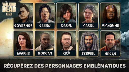 The Walking Dead No Man's Land  captures d'u00e9cran 2