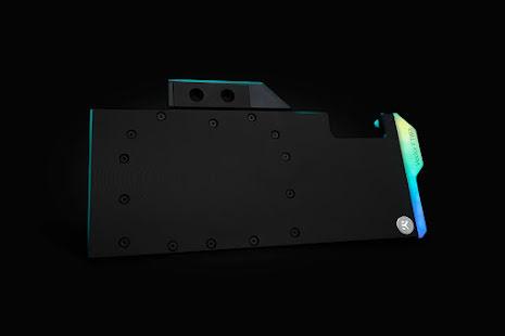EK vannblokk for skjermkort, EK-Quantum Vector FTW3 RTX 3080/3090 D-RGB - Nickel + Acetal
