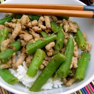 Green Beans with Ground Pork Recipe