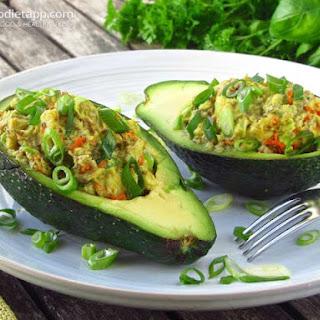 Paleo Sardine Stuffed Avocado Recipe