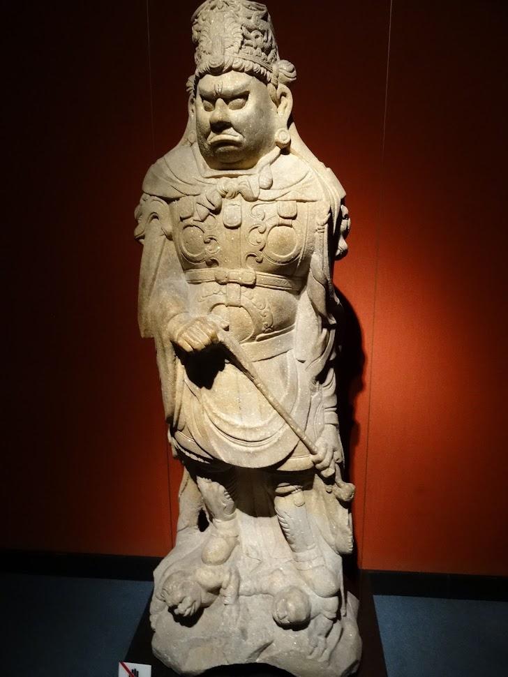 Sculpture au Musée de Shanghai