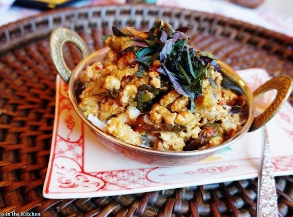 Thai Chicken In Peanut+basil Sauce: Weeknight Posh Recipe