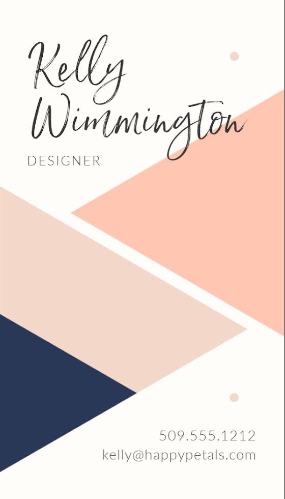 Wimmington Designer - Business Card Template