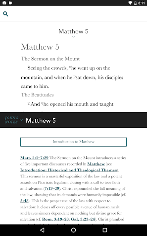 The Study Bible Screenshot
