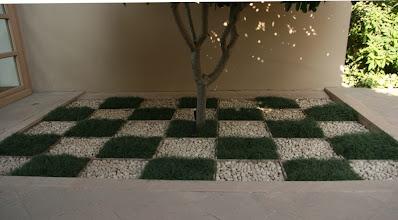 Photo: Trident Hiltonin puutarhaa