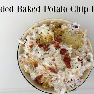 Loaded Baked Potato Chip Dip.