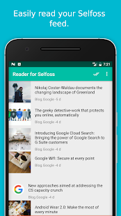 RSS Reader for Selfoss- screenshot thumbnail