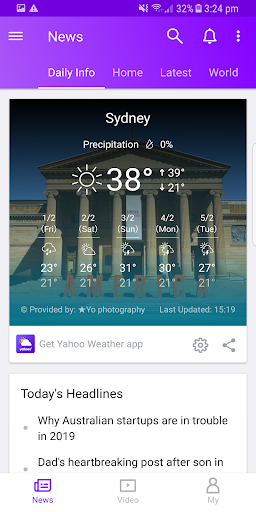 Yahoo News screenshot 2