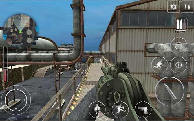 Call Of Modern Warfare : Secret Agent FPS Android 8