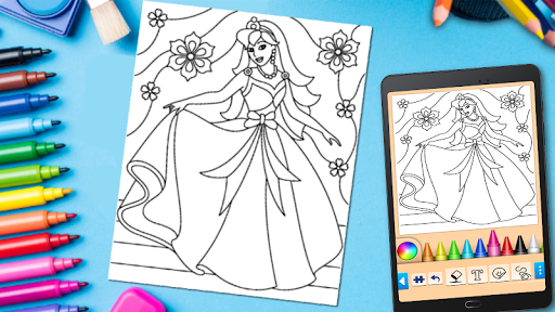 Coloring game for girls and women 14.6.2 Screenshots 6