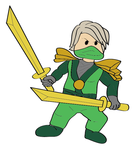 Drawing Lloyd Green Ninjago Apk Download Apkpureco
