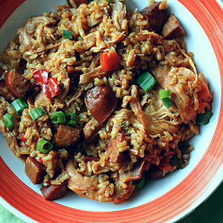 Southern-Style Chicken and Dirty Rice