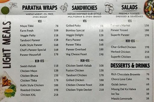 BOX8 - Desi Meals menu 1