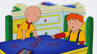 Olive Muddle/Caillou's Clay Play/The Lightning Ball Express