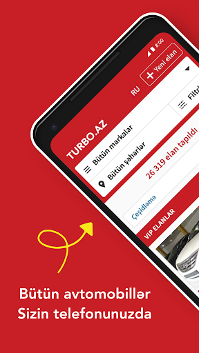 Turbo.az u2014 Mau015fu0131n alqu0131-satqu0131su0131 screenshots 1