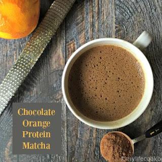 Chocolate Orange Protein Matcha