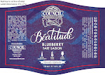 Council Beatitude Blueberry Tart Saison