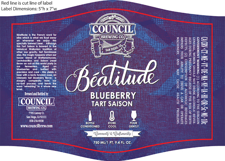 Logo of Council Beatitude Blueberry Tart Saison