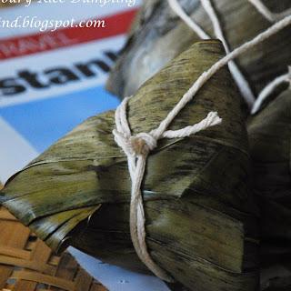 Bak Chang 2014 (咸肉粽 aka Zongzi / Savoury Rice Dumpling).