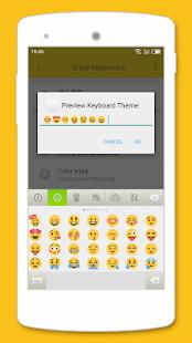 Emoji Keyboard 6 - náhled
