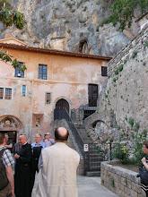 Photo: 017 Luostari on kuin kiinnikasvanut vuoreen