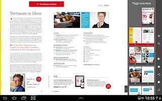 Screenshot of Börsenblatt