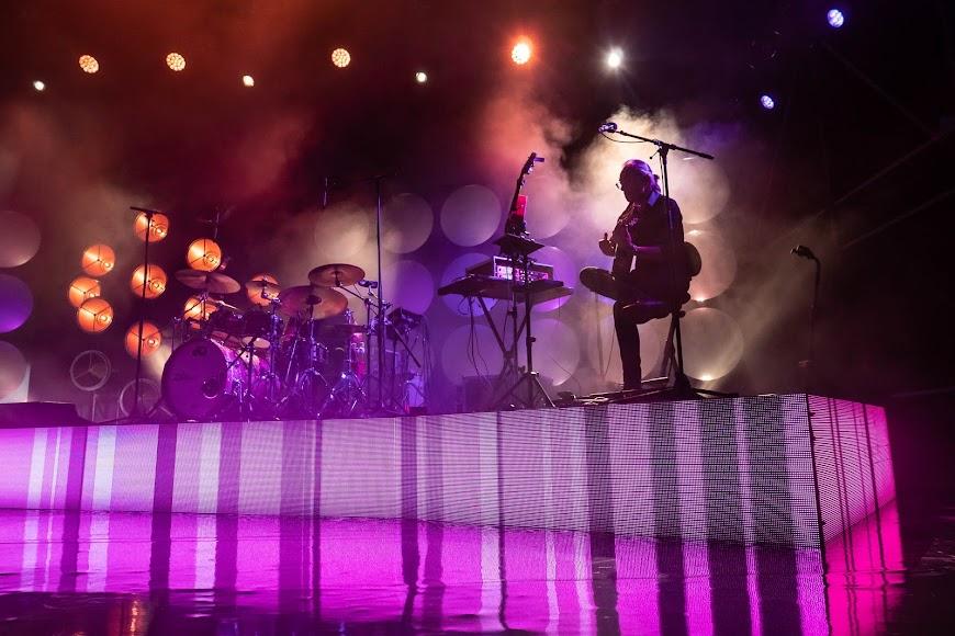 La banda que acompañó a Bisbal, sobre el escenario del Marble Music Fest