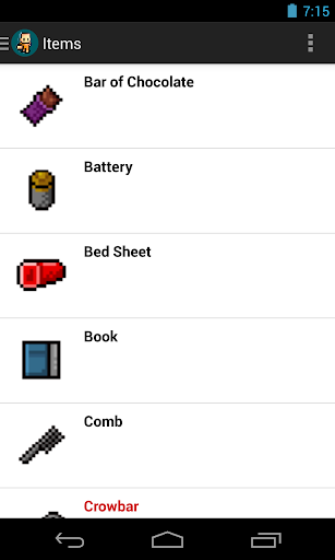 The Escapists Crafting Guide 2.2.2 APK by Maxim Mulincev