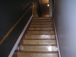 Photo: Going upstairs to Master Suite