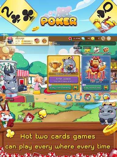 Free Poker Toon  Texas Online Card Game  screenshots 10