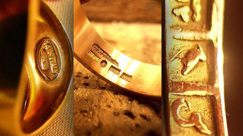 Jewelry Markings