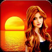 Sunset Photo Frame