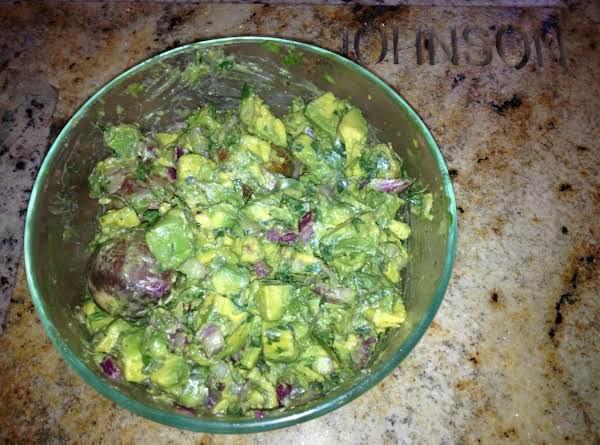 Avacado And Oregano Relish Recipe