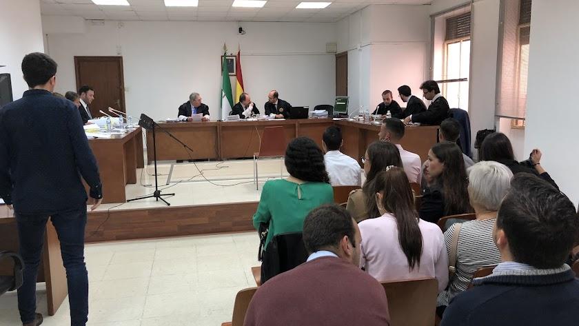 Vista  oral en la Audiencia de Almería