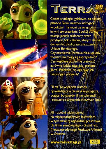 Tył ulotki filmu 'Terra'