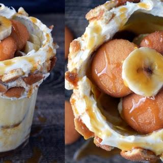 Banana Pudding Milkshake.