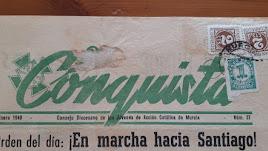Publicación con información relativa a esa peregrinación en el año 1948, hace 70 años.