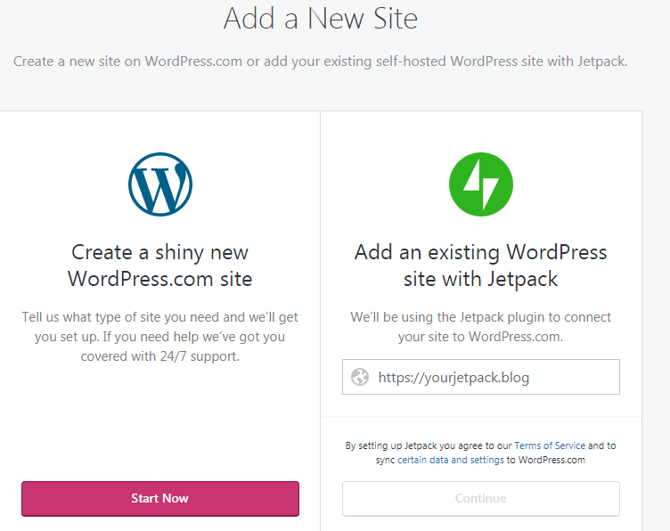 how to create a free wordpress site for your freelance seo writing website - step 2